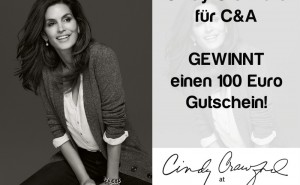 Gewinnt mit modeverliebt einen 100  Gutschein fr die Cindy-Crawford-fr-C&amp;A-Kollektion