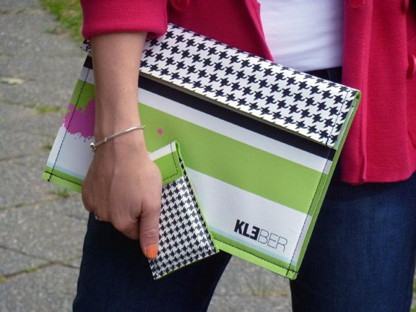 Happy Lizzy Hüllen für MacBook Air und iPad von Kleber Taschen