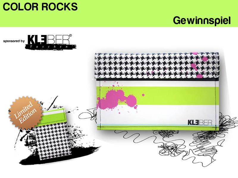 Gewinnspiel COLOR ROCKS mit Hüllen für MacBook Air und iPad von Kleber Taschen