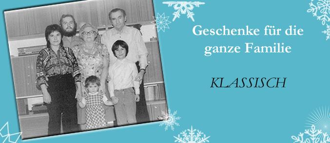 Geschenkideen Familie Weihnachten.Weihnachten 2012 Klassische Geschenkideen Für Die Ganze Familie