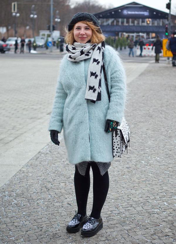 modeverliebt Streetstyle mit Andreea Vaitis auf der Mercedes-Benz Fashion_Week Berlin A/W 2013