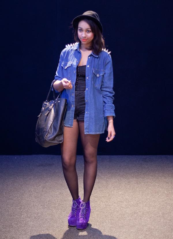 modeverliebt Streetstyle mit Bloggerin Alizee von Ali Avenue auf der Mercedes-Benz Fashion_Week Berlin A/W 2013