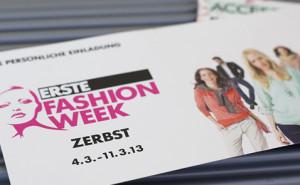 Erste Fashion Week in Zerbst Sachsen-Anhalt bei AWG Mode