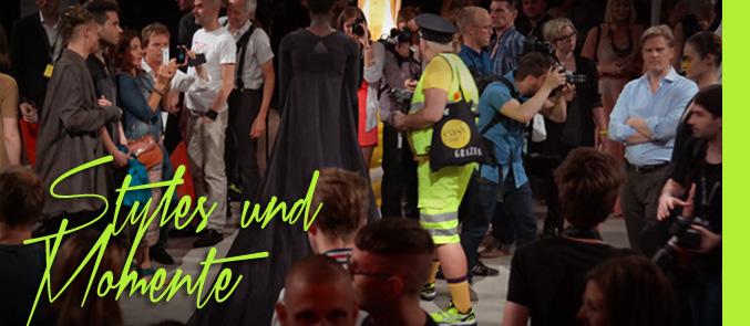 Video streetstyles, Fotos und Momentaufnahmen zusammengeschnitten in unserem letzten Fashion Week Video