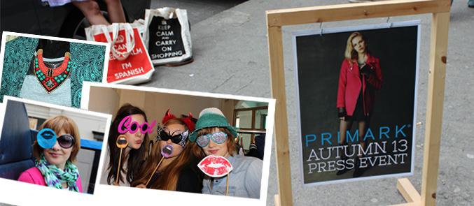 Primark Press Day in Dublin Autumn 2013 Herbstkollektion