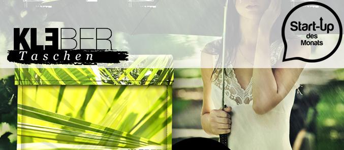 modeverliebt präsentiert das neue Start-up des Monats für August  2013  Kleber Taschen